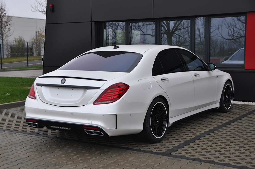 German special customs comes up with a brutal s class for Mercedes a klasse amg interieur