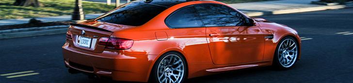 Ein paar Limitierte Editionen des BMW M3 E92 Coupé