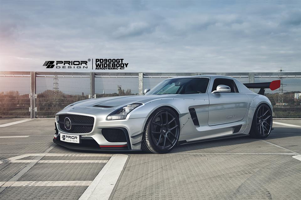 Prior Design Turns The Mercedes Benz Sls Amg Into A Racer
