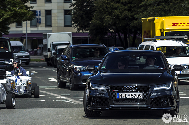 Robert Lewandowski S Company Car Is An Audi Rs7 Sportback