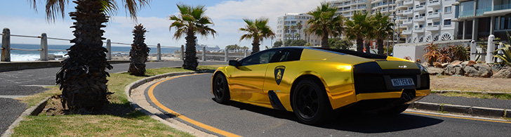Photoshoot Lamborghini Murcielago In South Africa