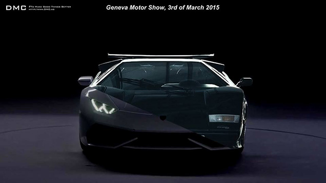 DMC Luxury brengt getunede Lamborghini Huracán LP610-4 naar Genève