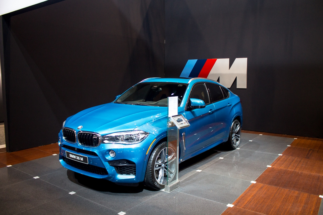 Chicago 2015 Bmw X5 M And X6 M