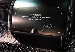 Nieuwe one-off door Pagani: Zonda 760 JC
