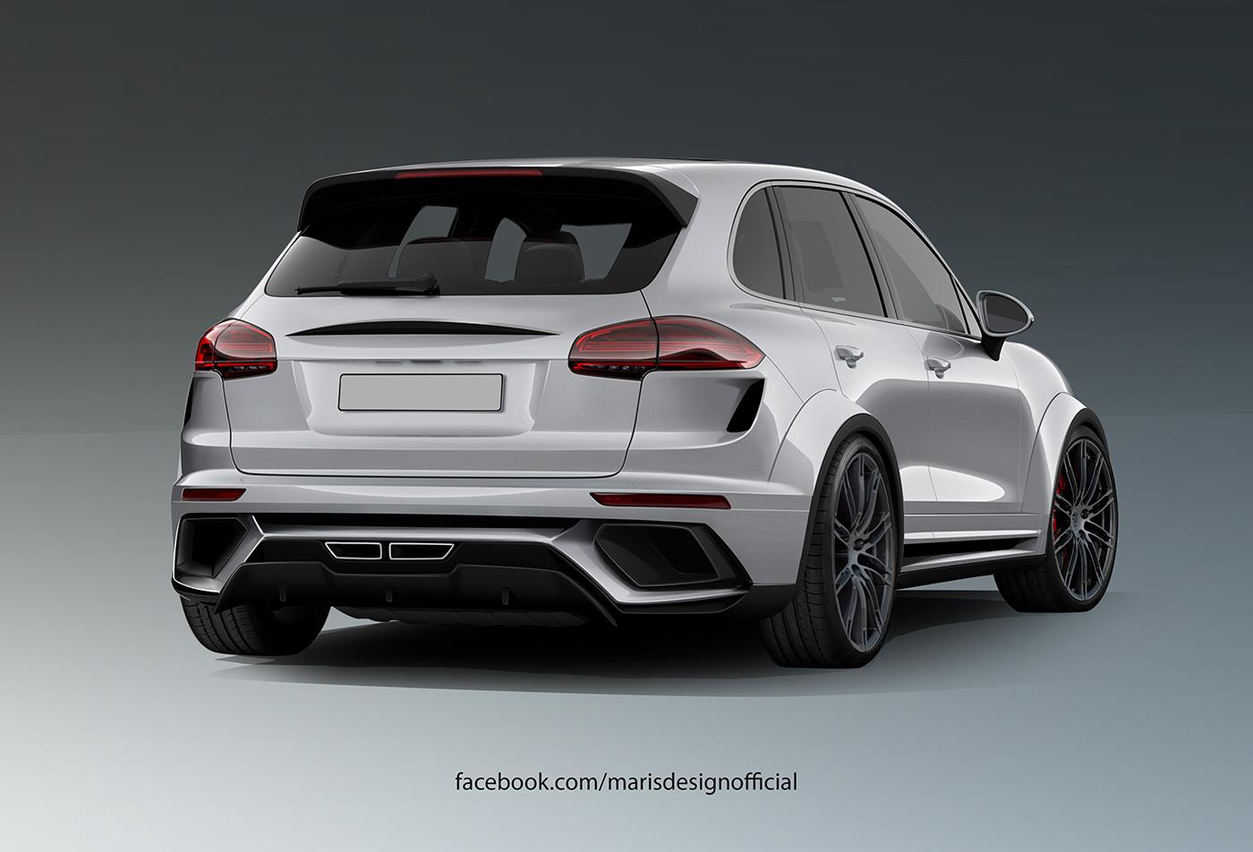 Porsche Cayenne Gets A Make Over By Atarius Concept