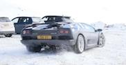 Movie: Lamborghini Diablo VT in the snow