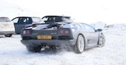 Movie: Lamborghini Diablo VT in the snow