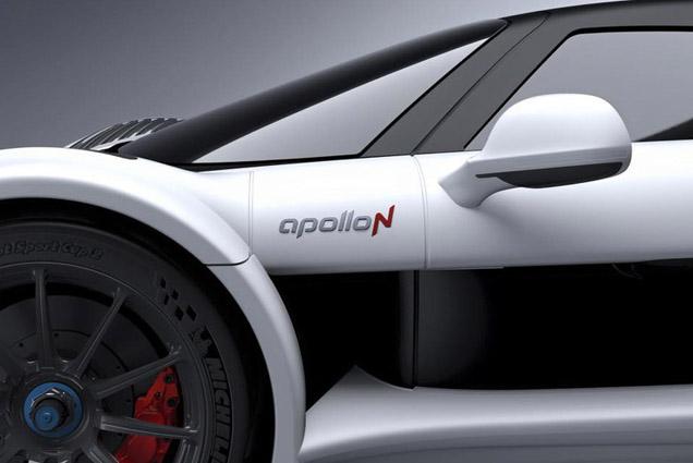 ApolloN teaser laat ons vleugje van nieuwe auto zien