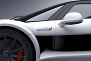 ApolloN teaser shows us a hint of the new car