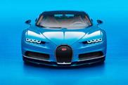 Voici la Bugatti Chiron !