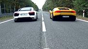 Who will be faster: Audi R8 V10 or Lamborghini Huracán LP610-4