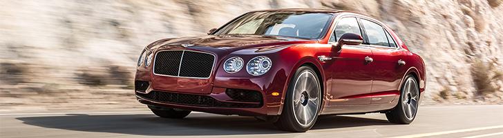 Bentley apresenta Flying Spur V8 S no Salão de Genebra