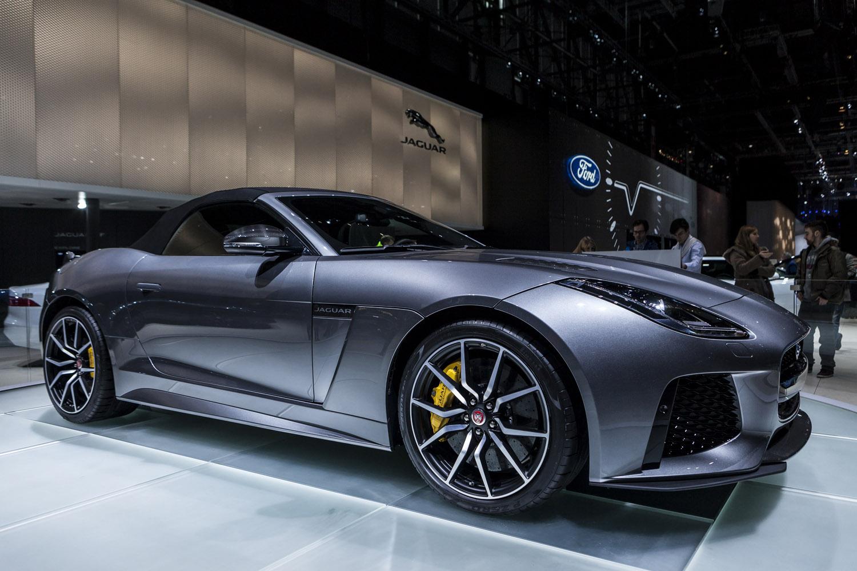 Geneva 2016 Jaguar F Type Svr