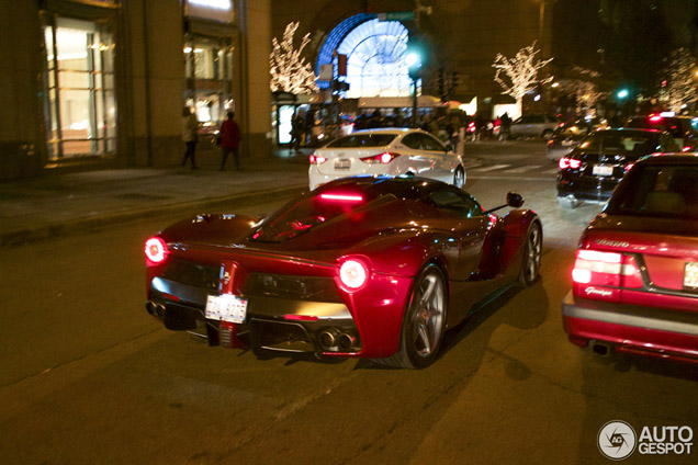LaFerrari steelt de show in Chicago