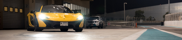 Event: McLaren Club UAE Trackday at Yas Marina