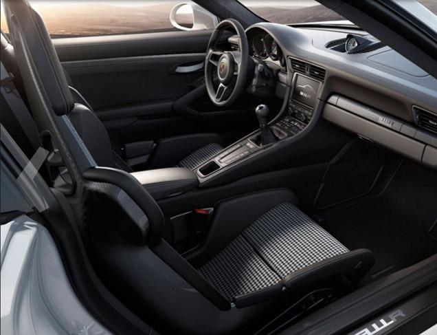 Porsche 911 R vroegtijdig gelekt