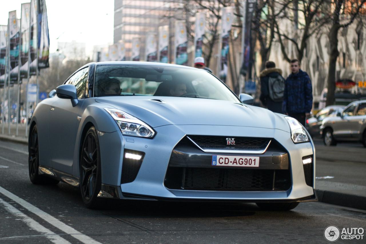 Spot van de Dag: 2017 Nissan GTR in Rotterdam