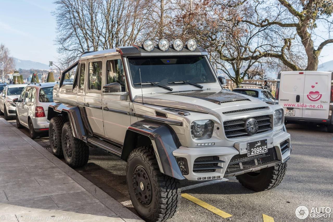 spotted mansory gronos g63 amg 6x6 when extreme isn 39 t enough. Black Bedroom Furniture Sets. Home Design Ideas