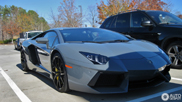 Spot of the Day USA: Grigio Telesto Lamborghini Aventador