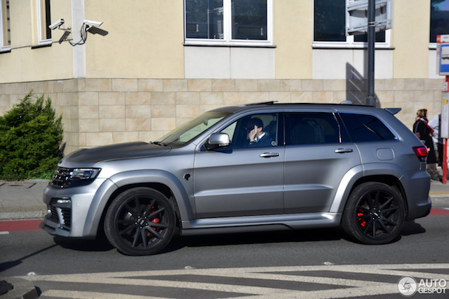 Nog bruter: Jeep Grand Cherokee met Tyrannos bodykit