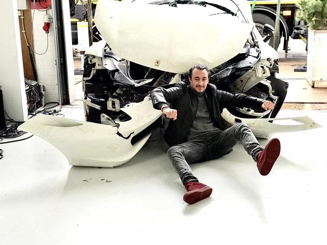 Voormalige Ferrari Artcar van Joseph Klibansky is niet meer