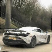 McLaren P14 auf Testfahrt