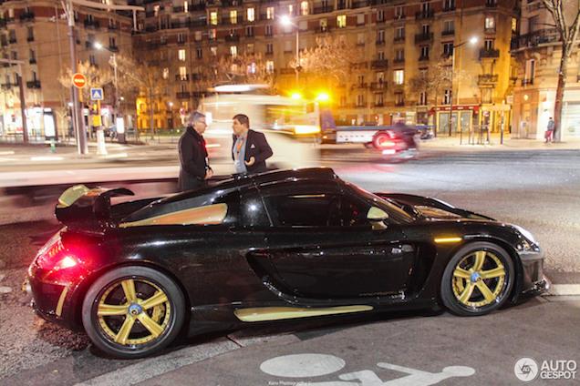Gemballa Mirage GT Gold Edition heeft 4,5 jaar op zich laten wachten