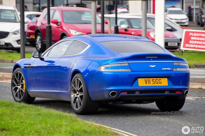 Mooier wordt de Aston Martin Rapide niet meer
