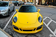Spot of the Day USA: Bright yellow Porsche 991 Carrera GTS
