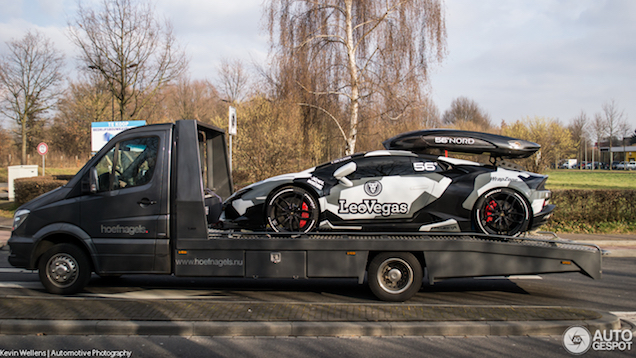 Spot van de dag: de Lamborghini van Jon Olsson