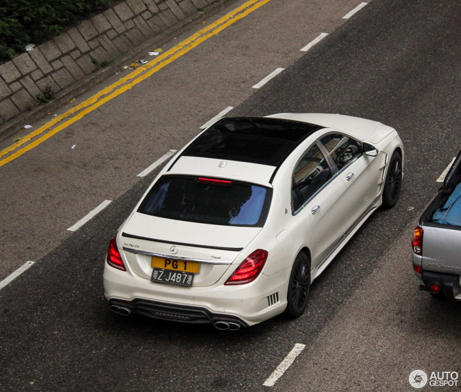 Primeur gespot: Mercedes-Maybach S600 Wald Black Bison