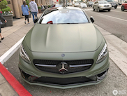 Mercedes-AMG S 63 Coupe in the City of Angels