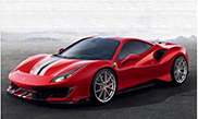 We verwelkomen de Ferrari 488 Pista