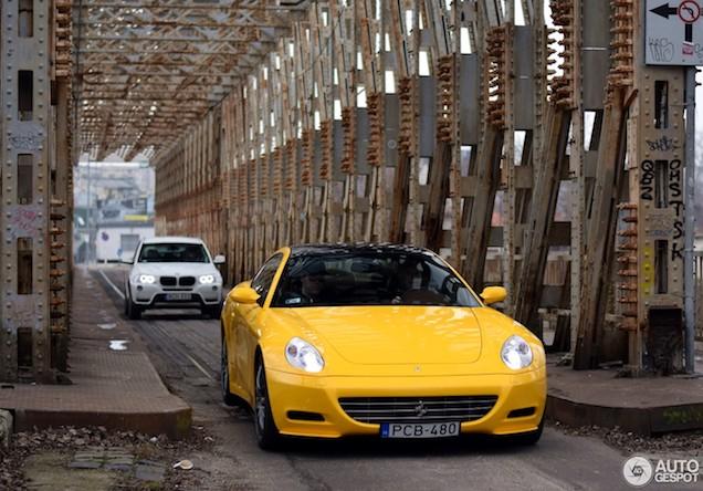 Had jij de 612 Scaglietti ook een gele kleur gegeven?