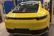 Is dit de nieuwe Porsche 911 (992)?