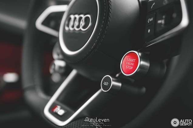 Spot van de dag: Audi R8 V10 Plus!