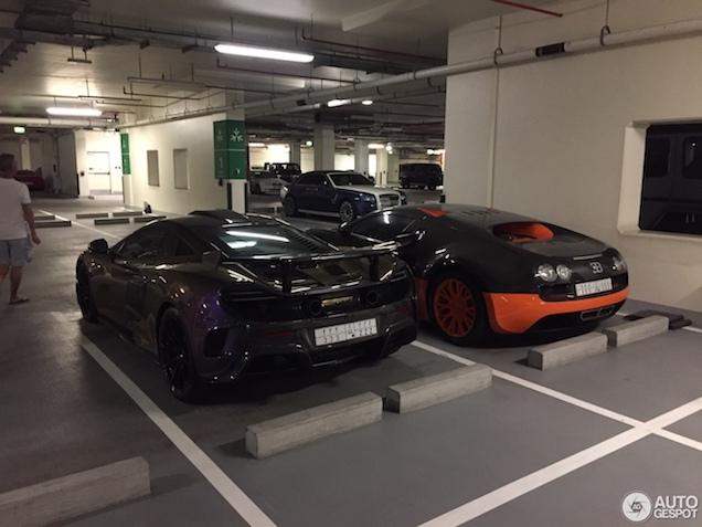 Combo: Bugatti Veyron Super Sport WRE & McLaren MSO HS