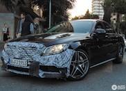 Spyshots: Mercedes-AMG C 63 facelift