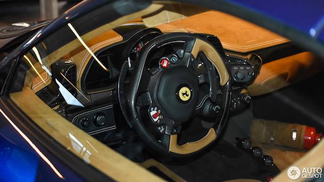 Less is more, Ferrari 458 Speciale A