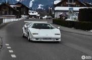 Iconische Lamborghini mag gewoon mee naar buiten!