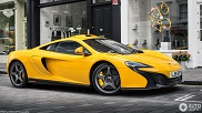 Spotted: Bright yellow McLaren 650S Le Mans