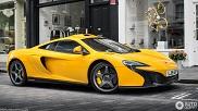Avistado: McLaren 650S Le Mans em Volcanic Yellow