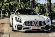 Witte Mercedes-AMG GT R is schitterend