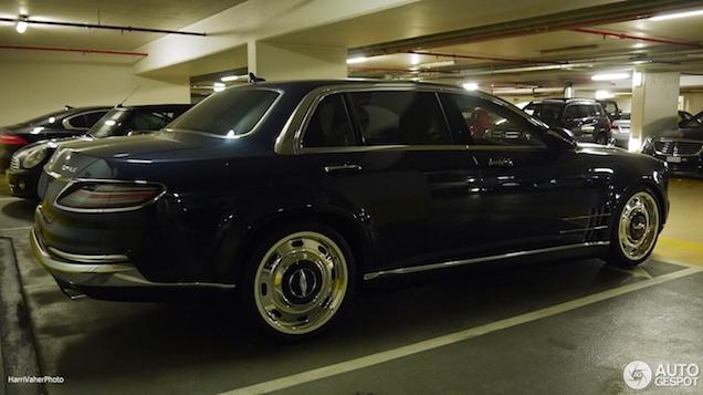 Opmerkelijk: Mercedes Royale 600