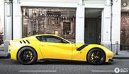 Ferrari F12tdf werkte als magneet in Antwerpen