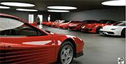Filmpje: is dit de meest perfecte Ferrari collectie?