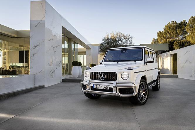 De nieuwe Mercedes-AMG G 63 is er ook weer bij