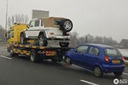 Mercedes-Maybach G 650 Landaulet wil niet op eigen benen staan
