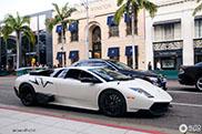 Prachtige Lamborghini heeft het warm in Beverly Hills