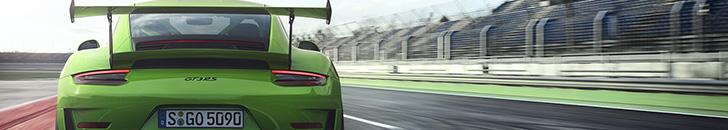 Nieuwe Porsche GT3 RS knalt je beeldscherm op